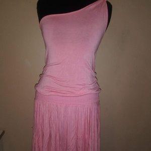 Bebe one strap dress